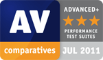 AV Comparatives for Avira Premium Security Suite in July 2011