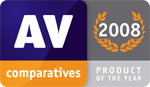 AV Comparatives Product of the Year 2008