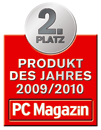 PC Magazin Product of the Year 2009/2010