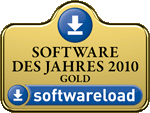 "Logo softwareload: Gold in category ""Software of the Year 2010"""