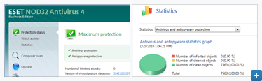 Screenshot gallery for ESET NOD32 Antivirus 4 Business Edition