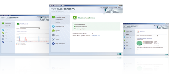 Open Screenshot Gallery for ESET Mail Security for IBM Lotus Domino - Beta
