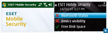 ESET Mobile Security Screenshot Gallery