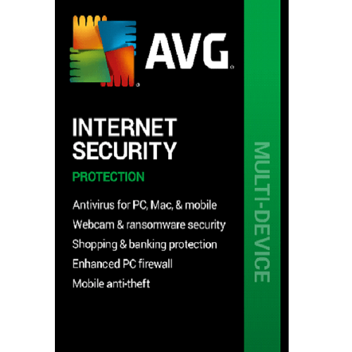 AVG Internet Security - 3-Year / 3-Devices