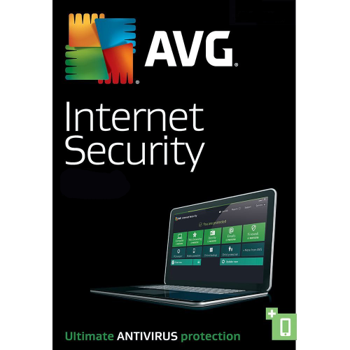 AVG Internet Security - 2-Year / 10-PC