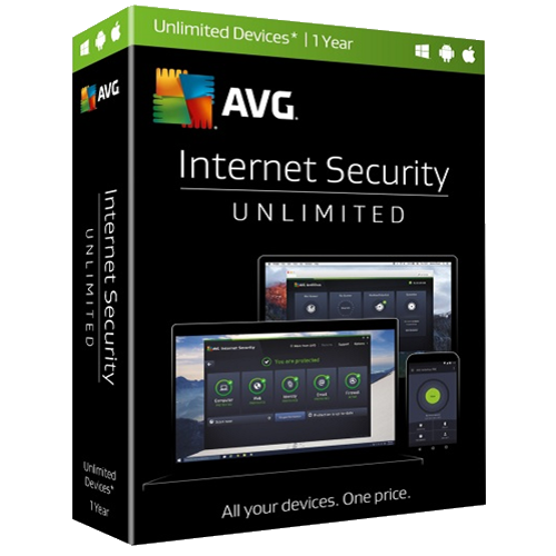AVG Internet Security - 1-Year / Unlimited Devices - Global