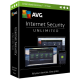 AVG Internet Security - 1-Year / Unlimited Devices - Retail Box