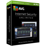 AVG Internet Security - 5-Year / Unlimited Devices - Global