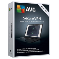 AVG Secure VPN 1-Year / 1-PC