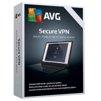 AVG Secure VPN 2-Year / 10-Devices (5 Active Connections)