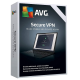 AVG Secure VPN 1-Year / Unlimited PCs (5 Active Connections)