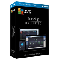AVG TuneUp - 1-Year / Unlimited Devices