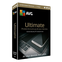 AVG Ultimate - 1-Year / Unlimited Devices