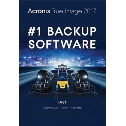Acronis True Image 2017 - Perpetual / 1-Device