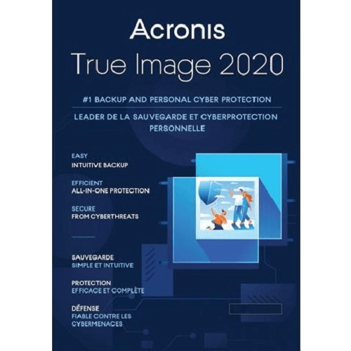 Acronis True Image 2020 Advanced (free upgrade to 2021 version) - 1-Year / 1-Device + 250GB Acronis Cloud Storage