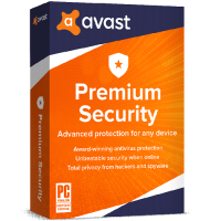Avast Premium Security 2-Year / 10-Devices