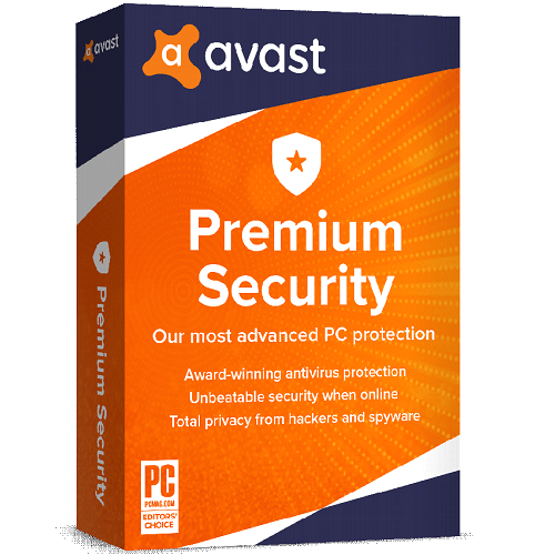 Avast Premium Security 3-Years / 1-PC