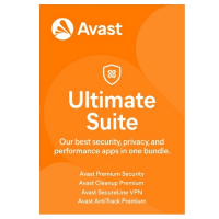 Avast Ultimate Suite - 1 Year / 10-Device