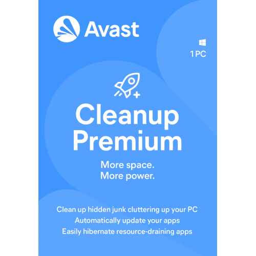 Avast Cleanup Premium - 3 Year / 1-PC