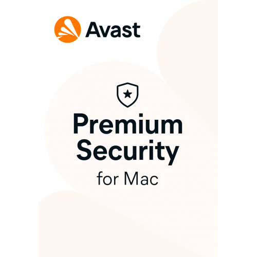 Avast Premium Security for Mac - 1-Year / 1-Mac