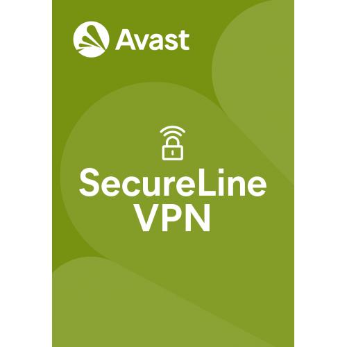 Avast SecureLine VPN - 1-Year / 10-Device