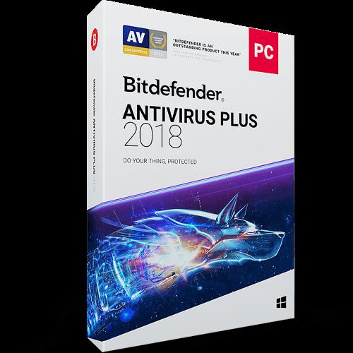 Bitdefender Antivirus Plus - 1-Year / 1-PC