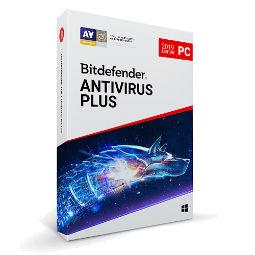 Bitdefender Antivirus Plus - 1-Year / 5-PC - Global