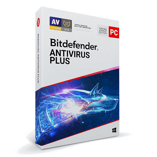 Bitdefender Antivirus Plus - 5-Years / 3-PC - Global