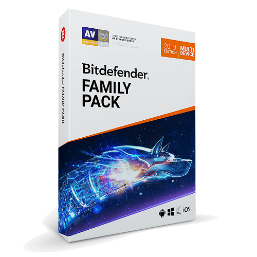 Bitdefender Family Pack - 1-Year / Unlimited Devices - Global