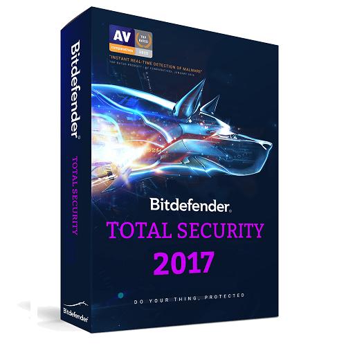 Bitdefender Total Security - 1-Year / 3-PC