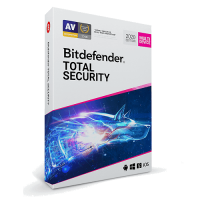 Bitdefender Total Security - 1-Year / 1-Device - Global