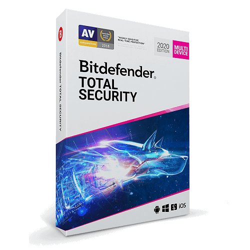 Bitdefender Total Security - 4-Years / 10-Device - Global