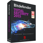 Bitdefender Total Security 2015 - 1-Year / 3-PC