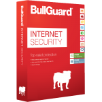 BullGuard Internet Security - 1-Year / 3-PC / 100MB Backup