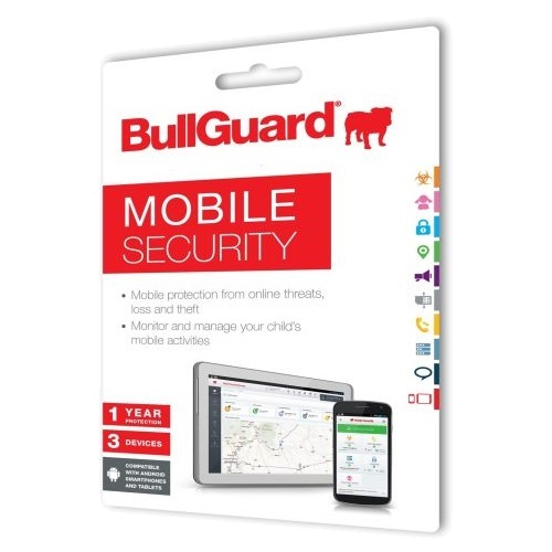 BullGuard Mobile Security - 1-Year / 3 Devices