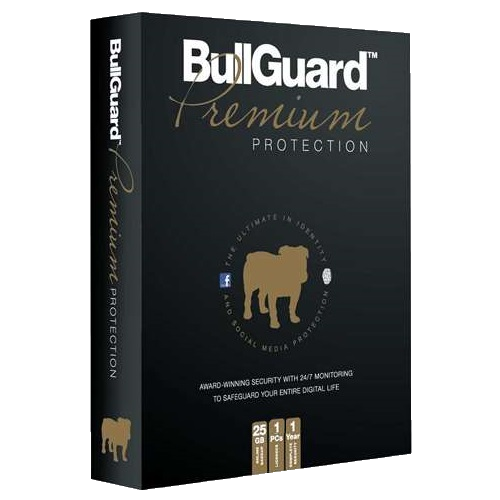 BullGuard Premium Protection - 1-Year / 1-PC / 25GB Backup