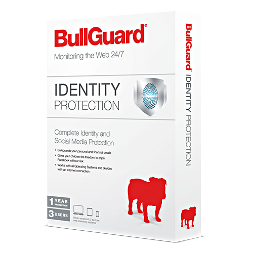 BullGuard Identity Protection - 1-Year / 3-Devices