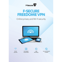 F-Secure FREEDOME VPN 1-Year / 5-Devices - Global