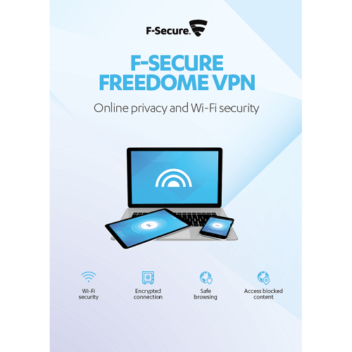 F-Secure FREEDOME VPN 1-Year / 3-Devices - Global