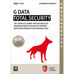 G Data Total Security 2015 - 1-Year / 3-PC