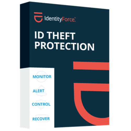 IdentityForce ID Theft Protection w/Credit Monitoring - 1-Year / 1-Family - USA