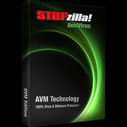 iS3 STOPzilla AntiVirus - 1-Year / 3-PC