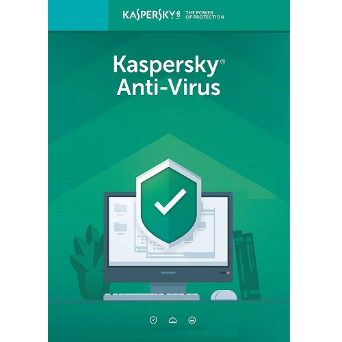 Kaspersky Anti-Virus 2021 - 1-Year / 1-PC - Americas