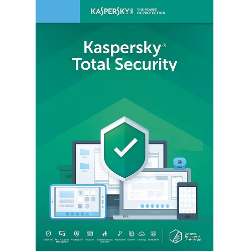 Kaspersky Total Security 2019 - 1-Year / 3-Device - Americas