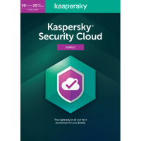 Kaspersky Security Cloud Family 2020 - 1-Year / 20-Device - UK/Europe