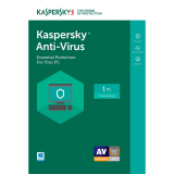 Kaspersky Anti-Virus 2017 - 1-Year / 1-PC - INT