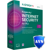 Kaspersky Internet Security 2014 - 1-Year / 3-PC - North America