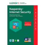 Kaspersky Internet Security 2017 - 1-Year / 1-Device - NA