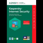 Kaspersky Internet Security 2017 - 1-Year / 1-Device - NA