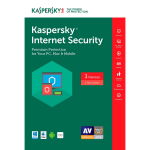 Kaspersky Internet Security 2018 - 1-Year / 3-Device - Americas